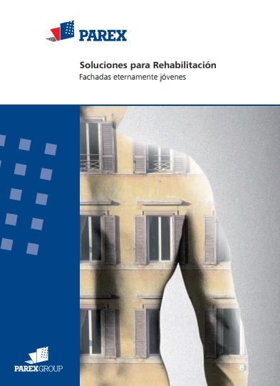 PAREX MANUAL DE REHABILITACION DE FACHADAS