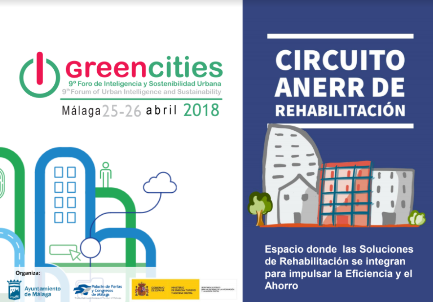 Foro Greencities ANERR celebra Circuito y Foro de Rehabilitación