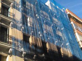 fachada andamio ANERR