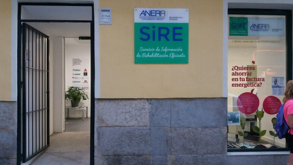 SIRE SERVICIO DE REHABILITACION EFICIENTE ANERR