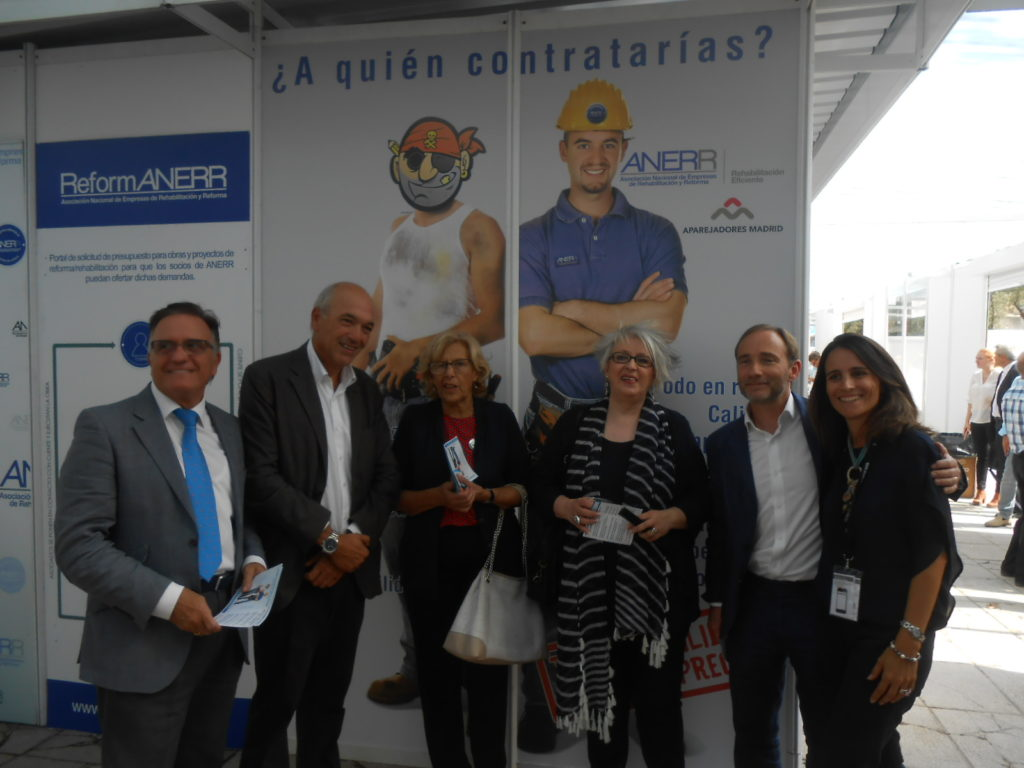 1 Circuito ANERR-Rehabitar Madrid 2017 - Manuela Carmena